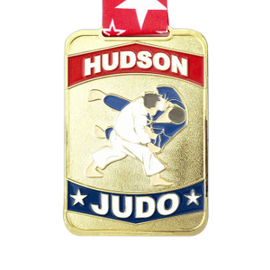 Customized International Judo Medals with Logo
