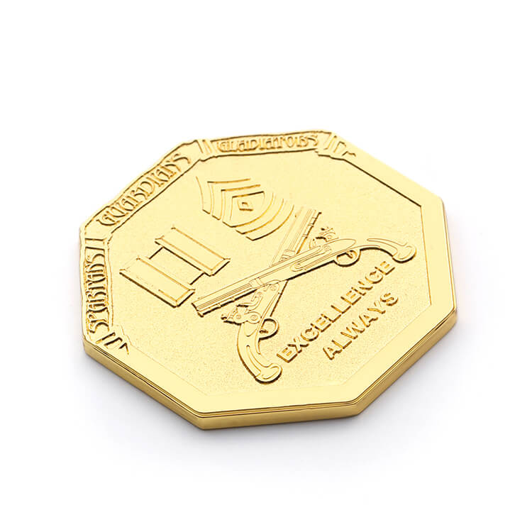 Unique Design Soft Enamel Zinc Alloy Metal Souvenir Coin