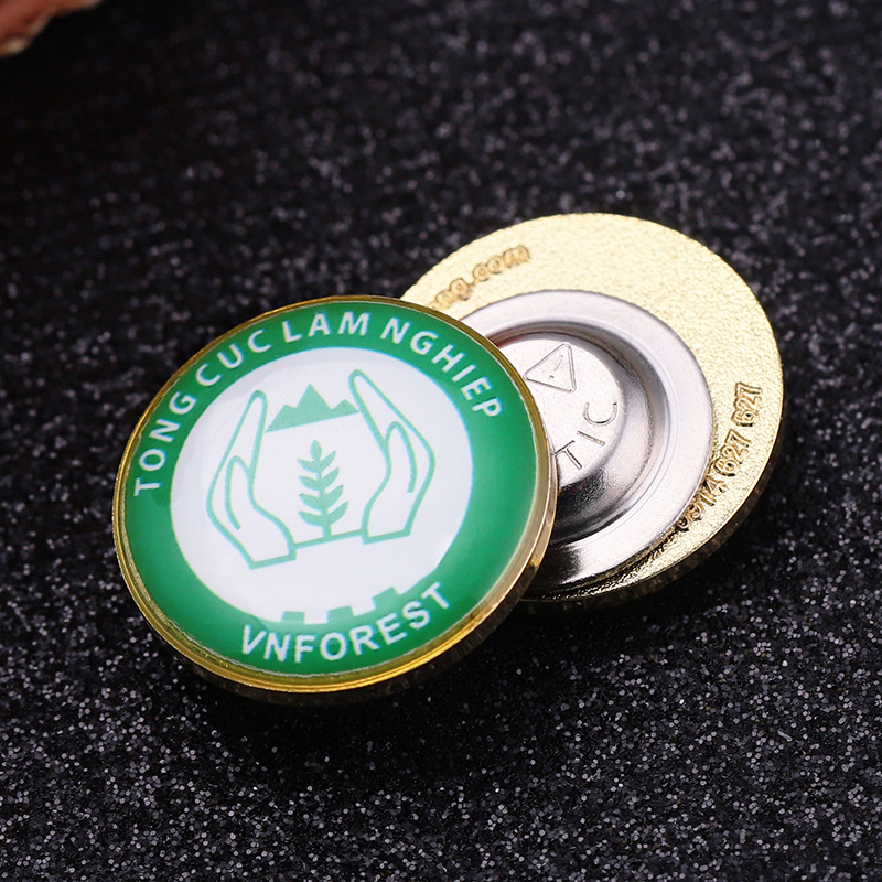 Event Prefect Soft Enamel Lapel Pin Badge For Tourist Gift