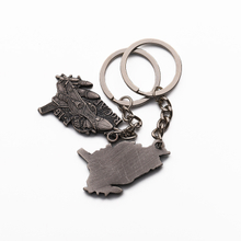 animal keyring 3d anime key chain empty keychain