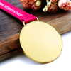Factory Direct DIY Casting Animal Medal with Ribbon