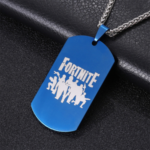 Big Fortnite Dog Tag