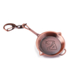 Pot Shaped Keychains for Women Custom Logo Keyring Home
