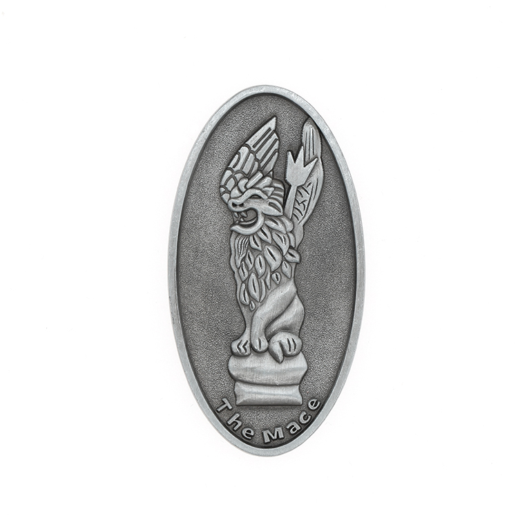 Custom Metal High Relief Fridge Magnet