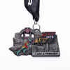 Fun Run Gold Silver Bronze 10KM Running Medal for Running Sports Medals