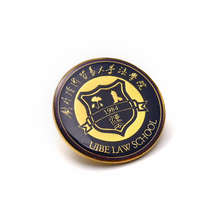 Alloy School Badges Symbol Stamped Metal Gift Emblem Logo Badge