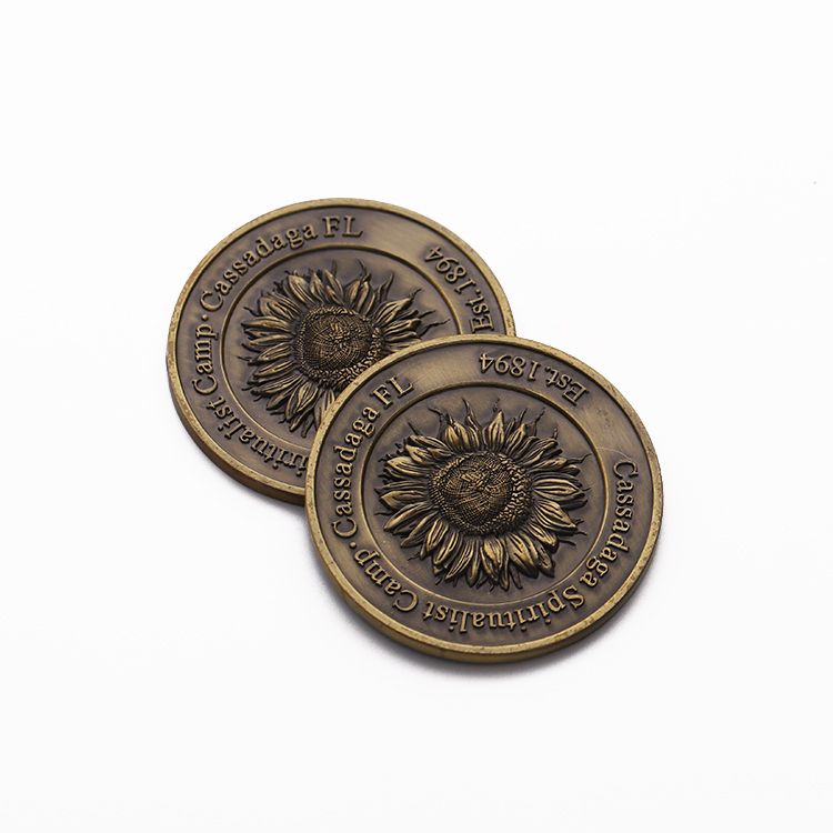 Flower Pins Enamel Printing Men Brass Copper Lapel Pin