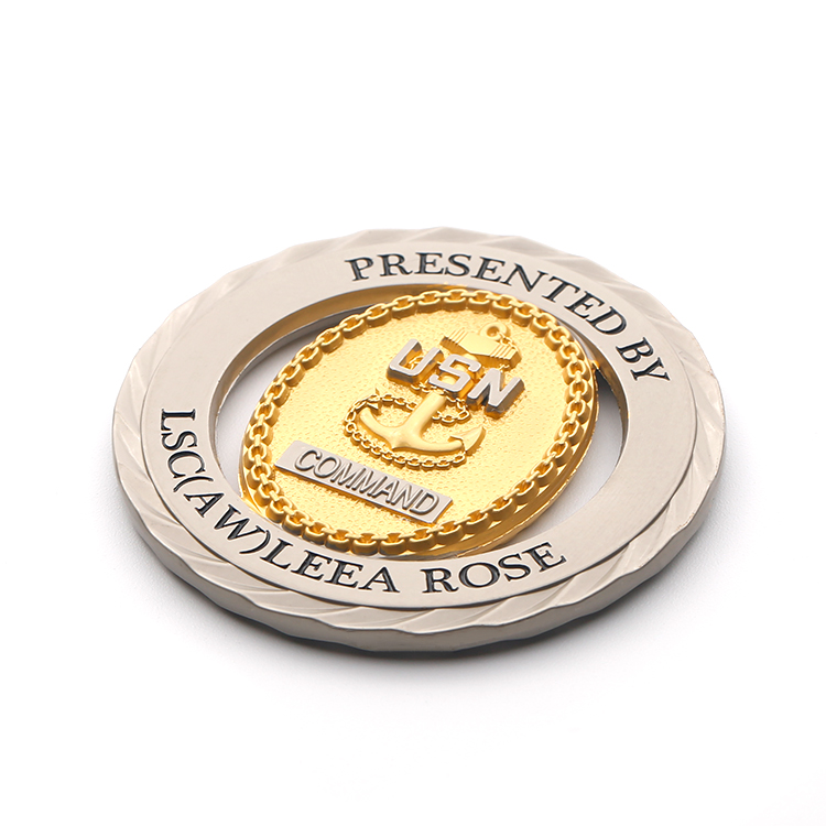 Embossed Metal Blank Sublimation Bulk Gold Antique Zinc Alloy Brass High Quality Commemorative Coin Gifts