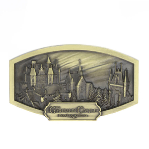 Custom 3d Building Zinc Alloy Metal Souvenir Fridge Magnet