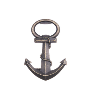 Wholesale Antique Metal Anchor Bottle Opener