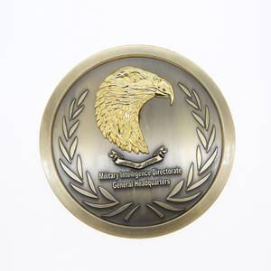 Pakistan Custom Engraved Metal Round Award Metal Plaque