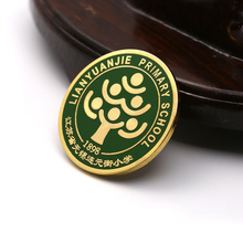 English School Alloy Round Blank Metal Embossed Decorate My Own Button Badge