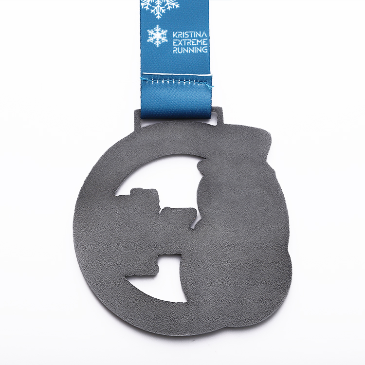Snowflake Creative Design Eco Friendly Large Funny Medal