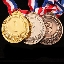 Stock Manufacturer Cheap Blank Gold Award Medal