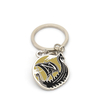 Customized Soft Enamel Boat Shape Zinc Alloy Keychain with DIY Logo And Words