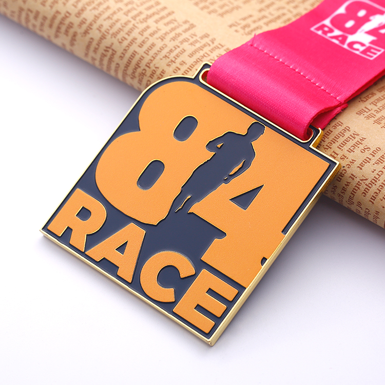 Special Design University Carnival Running Custom Our Logo Race Medal
