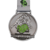 Antique Silver Custom Cheap Blank Rugby Medal