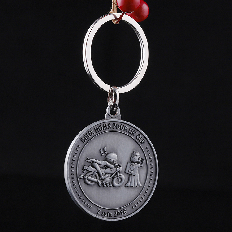 Souvenir for Wedding Custom Blank Token Trolley Coin Key Chain