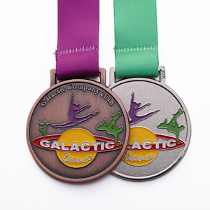 Medals Gymnastics Customized Souvenir Sports Medals