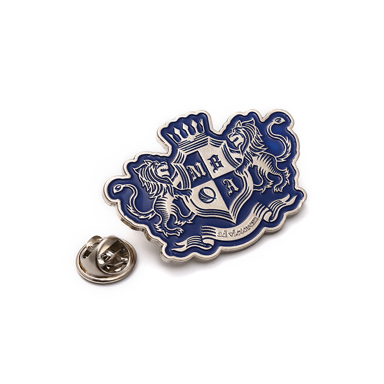 Zinc Alloy Animal Lion Police Badge