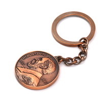 figure keychain for hotels stailess steel blank Metal Keychains