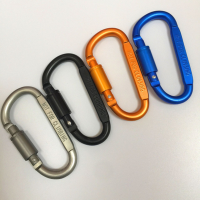ring keyrings key chain outdoor sports brass carabiner key chain